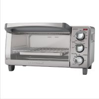 Black and Decker Horno Tostador / TO1760SS / 4 Rebanadas