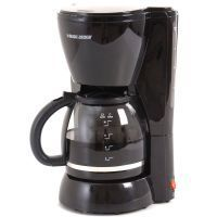 Black and Decker Cafetera / DCM1100B / 10 Tazas