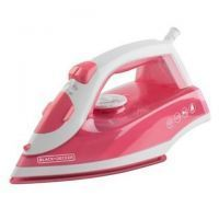 Black and Decker Plancha de Vapor / IRBD203 / Rosada