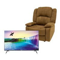 "Combo Televisor TCL 40"" y Sillón Reclinable Commodity / 40S6500A + 73012-91CH / Full HD"